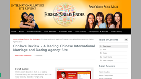 Foreign Singles Finder